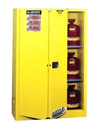 45 gallon flammable storage cabinet flammable safety cabinet gal yellow flammable liquid storage cabinet 45 gallon
