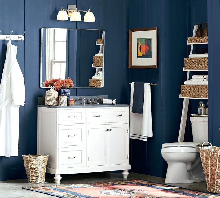 pottery barn cabinets bathroom over the toilet ladder pottery barn wall cabinet bathroom