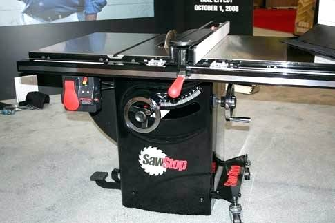 sawstop industrial cabinet saw saws unveils a less expensive cabinet saw popular woodworking sawstop industrial cabinet saw