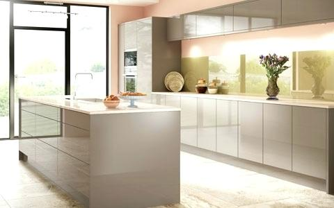 Modern White Gloss Kitchen Cabinets High Gloss Kitchen Doors Made To