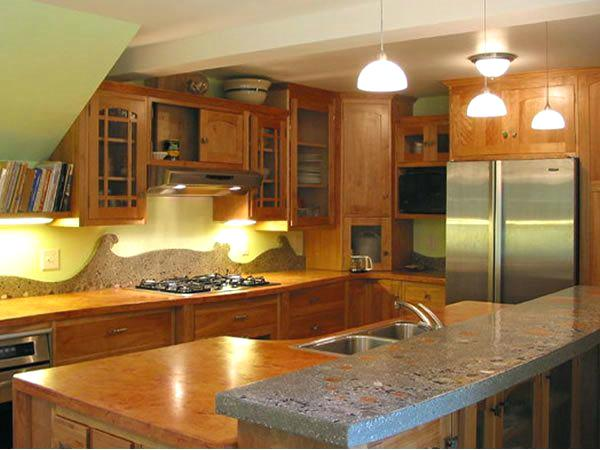 cabinet fabricators steger il orange grey exposed aggregate concrete stone soup concrete cabinets and more inc