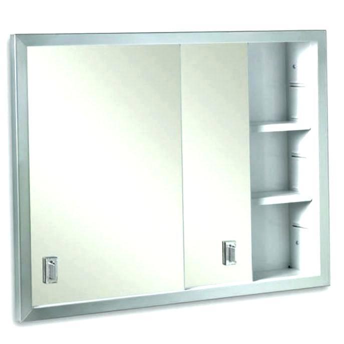 Oval Recessed Medicine Cabinet Home Medicine Cabinet With Mirror