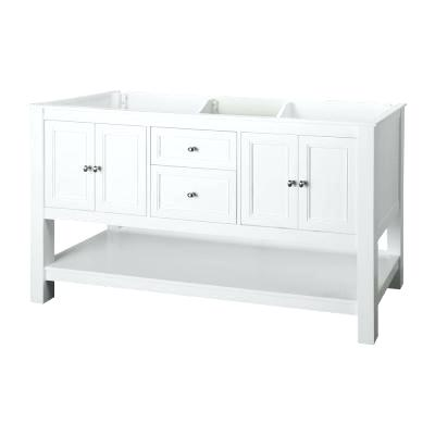 vanity cabinet without top home decorators collection gazette in vanity cabinet only in white with double bowl design 48 bathroom vanity cabinet with top