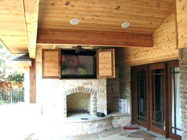Outdoor Tv Cabinet Ideas Outdoor Cabinet Ideas ...