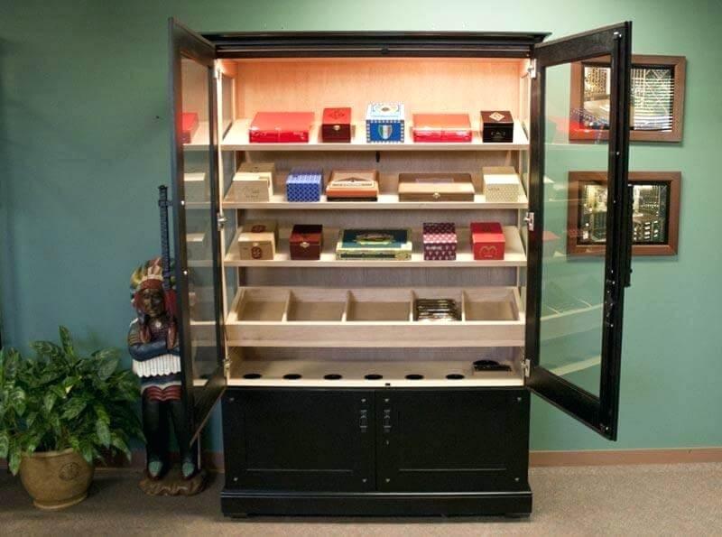 electronic cigar humidor cabinet custom cigar humidor credenza spacer remington electronic cigar cabinet humidor