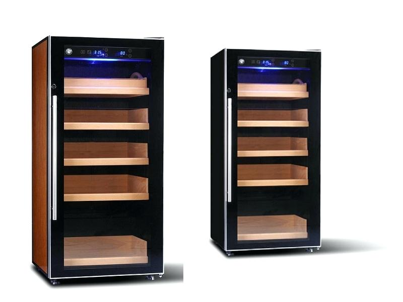 electronic cigar humidor cabinet electronic cigar humidor shop digital control humidor cabinet modern stainless steel shape redford electronic cabinet cigar humidor review