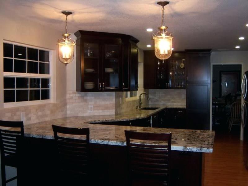 best backsplash for dark cabinets kitchen backsplash glass tile dark cabinets