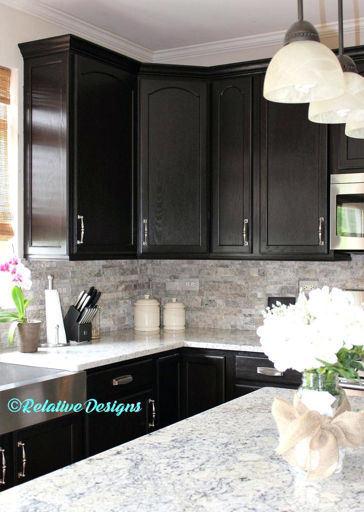 best backsplash for dark cabinets remarkable kitchen with dark cabinets best ideas about dark kitchen cabinets on dark backsplash white cabinets dark counters