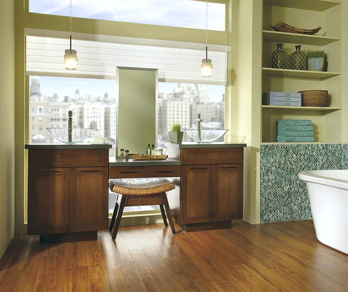 kemper echo cabinets cabinetry a shaker style double vanity cabinet in alder kemper cabinets echo line