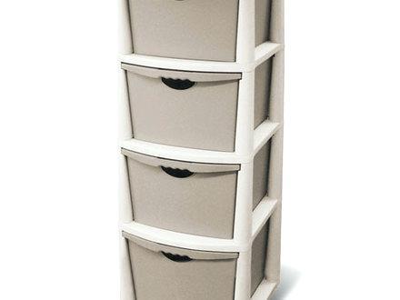 sterilite 01428501 4 shelf utility cabinet with putty handles platinum 4 drawer storage cabinet garage storage cabinets for sale at lowes