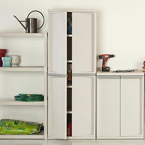 sterilite 01428501 4 shelf utility cabinet with putty handles platinum 4 shelf cabinet with putty handles platinum surplus cabinets near me