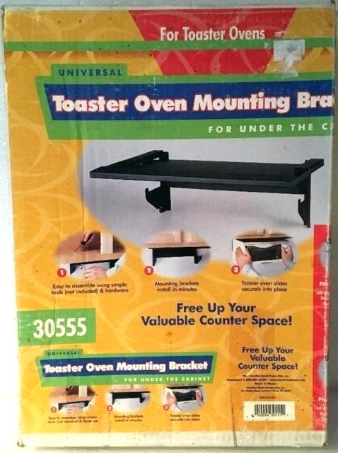 Under Cabinet 4 Slice Toaster Cabinet Mount Toaster Ovens Beach Universal Toaster  Oven Mounting Bracket For