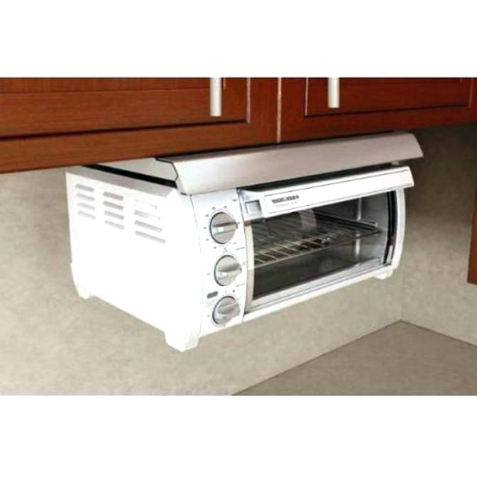 under cabinet 4 slice toaster toaster oven photo 6 of under cabinet mount black and white counter black decker spacemaker under the cabinet 4 slice toaster oven