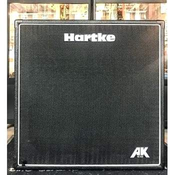 hartke bass cabinet 4x10 speaker cab for bass guitar ex display hartke 410 transporter bass cabinet