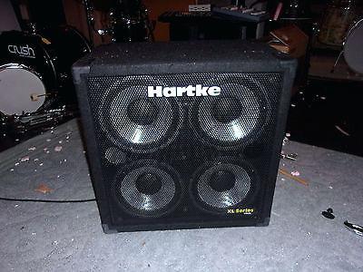 hartke bass cabinet 4x10 watt bass cabinet hartke systems 4x10 bass amp xl series