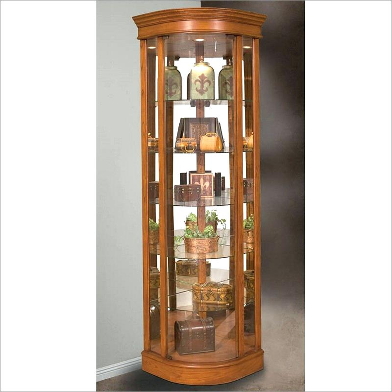 Broyhill Curio Cabinet Continental Tapestry Cabinet